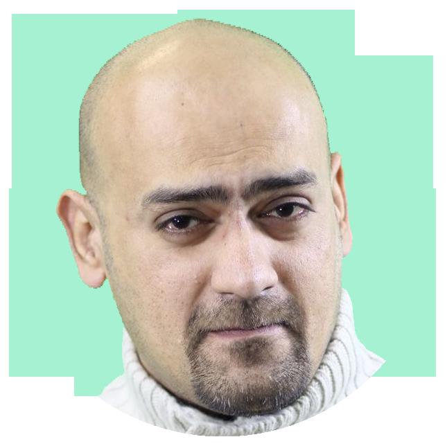 Adnan Kapadia Urdu voiceover headshot