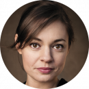 Amy Noble female voiceover Headshot