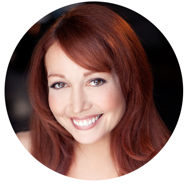 Amy Anzell US voiceover headshot