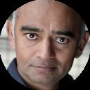 Bhasker Patel British Asian male voiceover Headshot