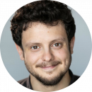 Daniele Antonini, Italian, Male, Voiceover, Headshot