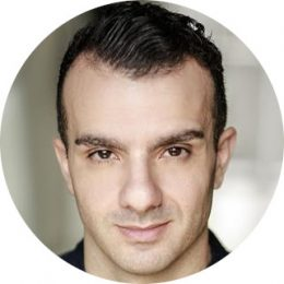 Emanuel Alba Italian male Voiceover Headshot