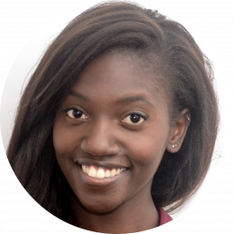 Fama Diop, Female, French, Voiceover, Headshot
