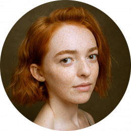 Georgina Sadler, New, US, Female, Voiceover, Headshot