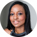 Gracy Goldman Black British female voiceover Headshot