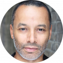 Guy Burgess Black British male voiceover Headshot