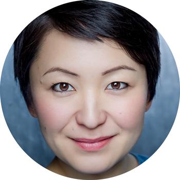 Haruka Kuroda Japanese female voiceover Headshot