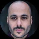 Hemi Yeroham, Turkish, Male, Voiceover, Headshot