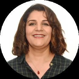 Jale Senay, New, Female, Kurdish, Farsi, Voiceover, Headshot