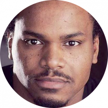Jamel Shawn Davall African-American male voiceover Headshot