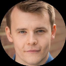 Joakim Gunby, Norwegian, Male, Voiceover, Headshot