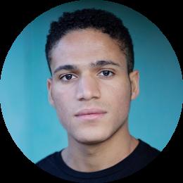 Joshua Riley, New, Male, RP, London, Black British, Voiceover, Headshot