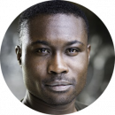 Jude Owusu Twi male voiceover Headshot