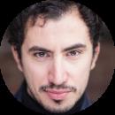 Marco Velutti Italian male voiceover Headshot