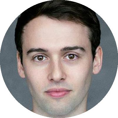 Max Dinnen male voiceover Headshot