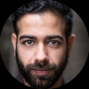 Nezar Alderazi US Arabic male voiceover Headshot