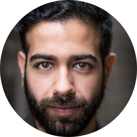 Nezar Alderazi, Arabic male voiceover Headshot