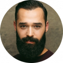 Ozer Ercan, Male, New, Turkish, Voiceover, Headshot