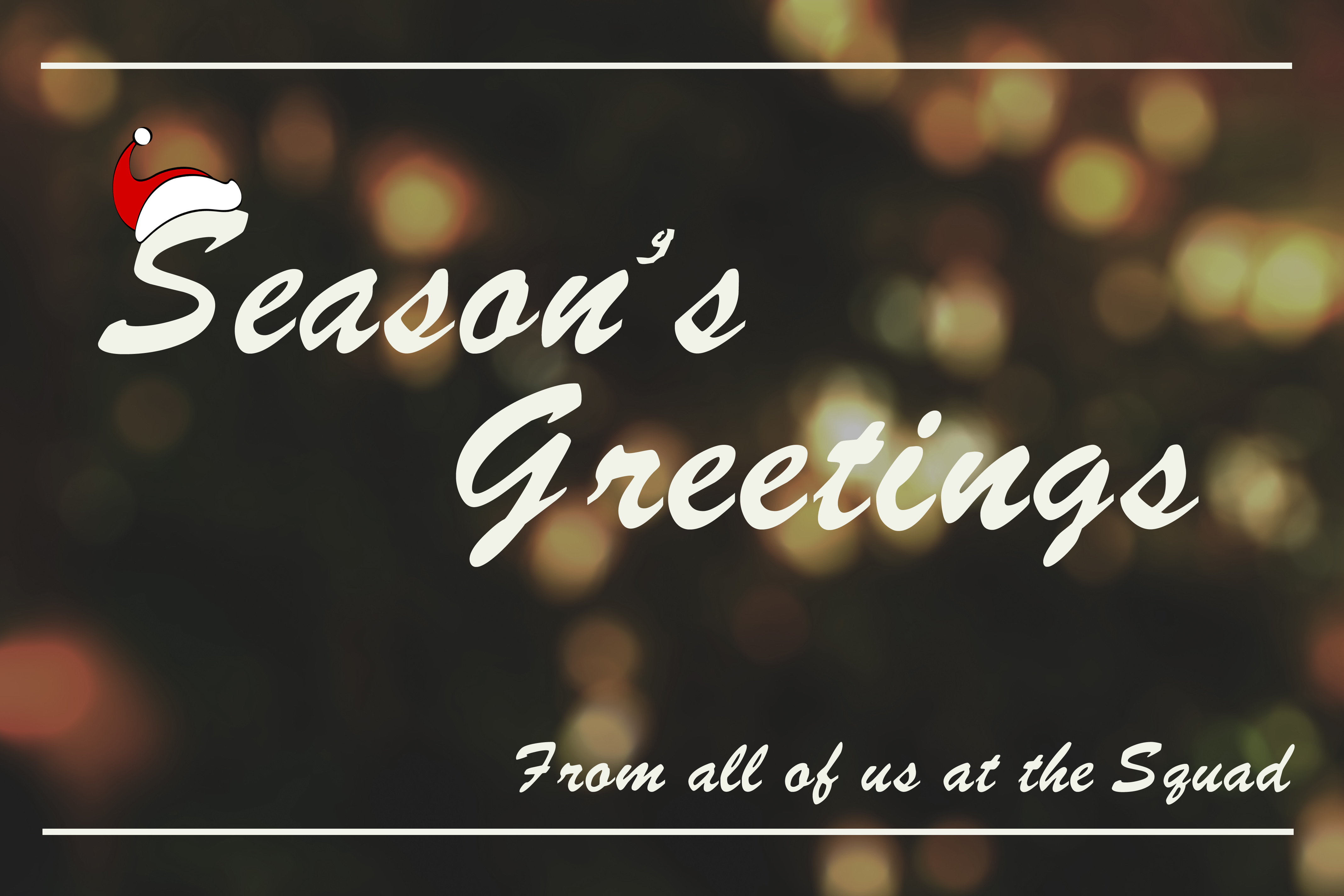 Seasons Greetings From Voice Squad London voice over agency
