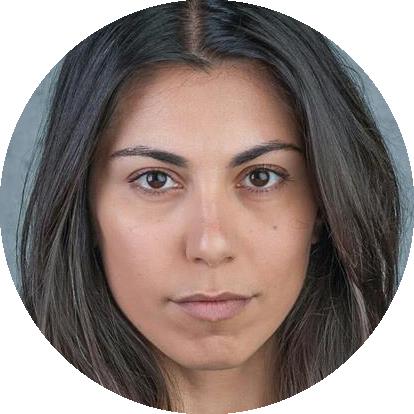Shno Kamal Dutch Kurdish female voiceover Headshot