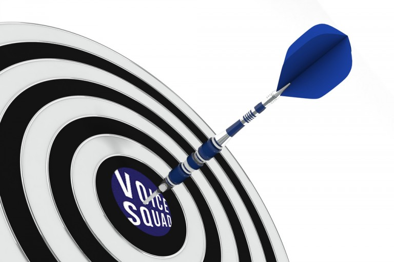 Hitting bullseye on a voice squad voiceover casting