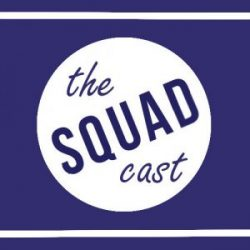 the voice squad podcast logo